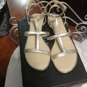 Talbots gold. Daisy gladiator sandal
